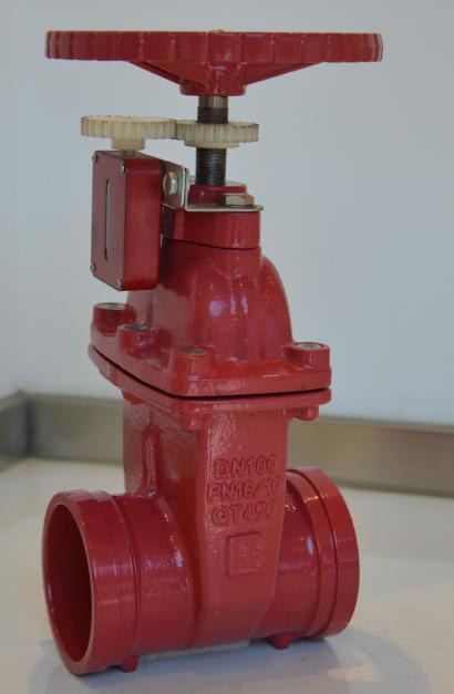 天津消防信号卡箍闸阀xz85x-16q dn200价格图片