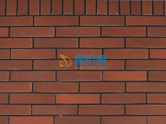 铁红加厚劈开外墙砖图片