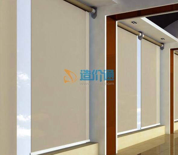 电动垂直卷帘门-水晶门图片