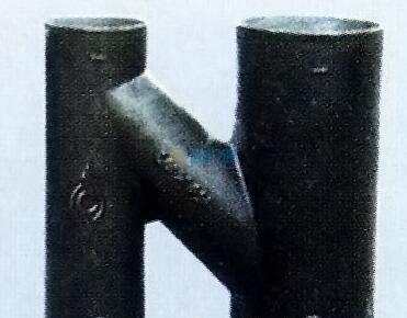 球墨铸铁法兰短管甲图片