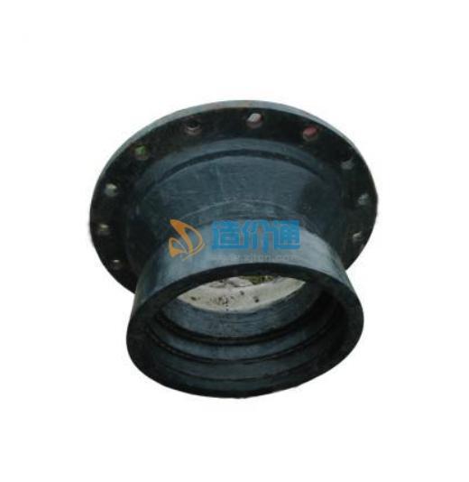 热镀锌沟槽法兰短管图片