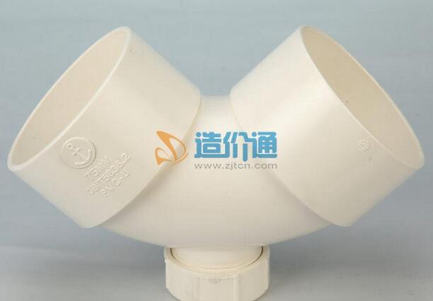 PVC-U排水管件-135°弯头图片