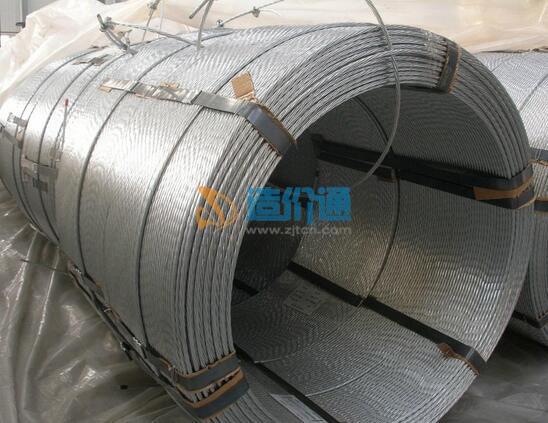 环氧涂装绞线及有粘结筋(φ15.2钢绞线)图片