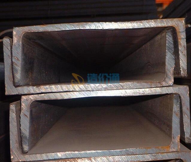 垂直安装槽钢图片