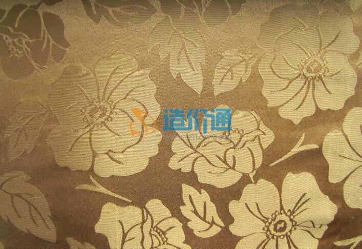 涤棉印花阻燃装饰布图片