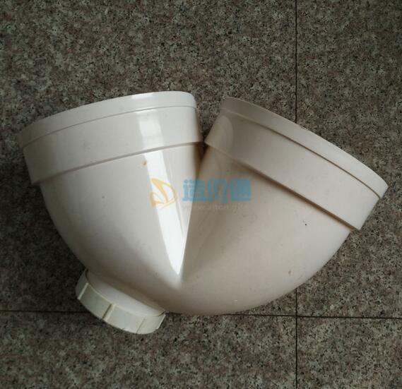 PVC-U排水管件-P型存水弯(带检查口)图片