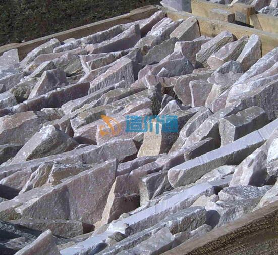 蒙古石片石图片