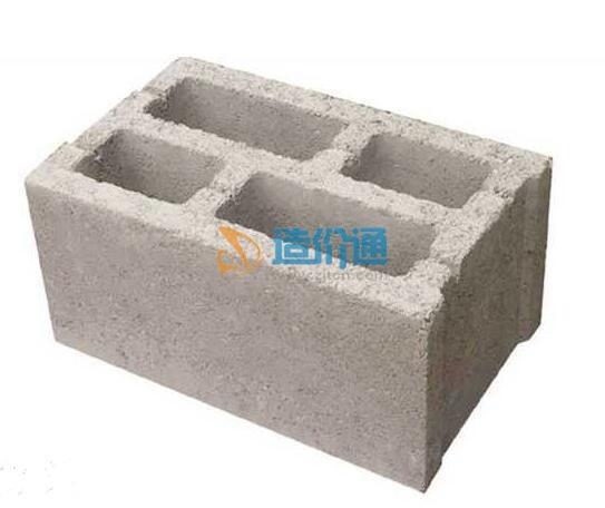 轻集料混凝土小型空心砌块图片
