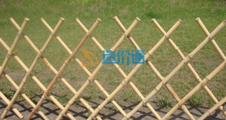 竹篱片图片