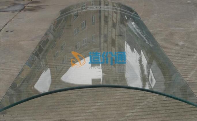 弯钢化玻璃图片