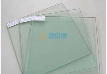 绿镀膜钢化玻璃图片