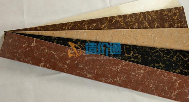 劈开砖(浅棕色脚线砖)图片