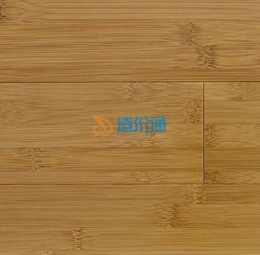 环保绿色竹材制造本色对节家居竹地板图片