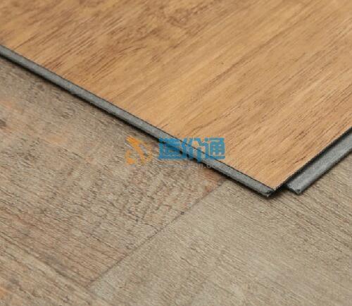 PVC石塑片材地板图片