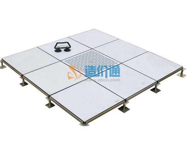 有边PVC导静电地板图片