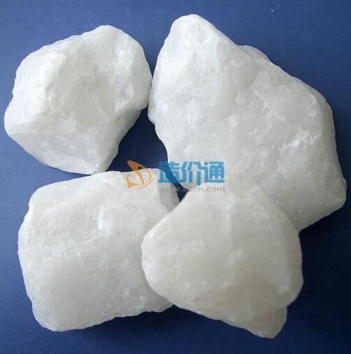 白色石英石图片
