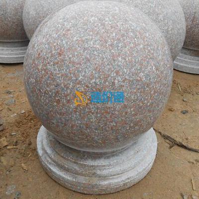 大理石石球图片