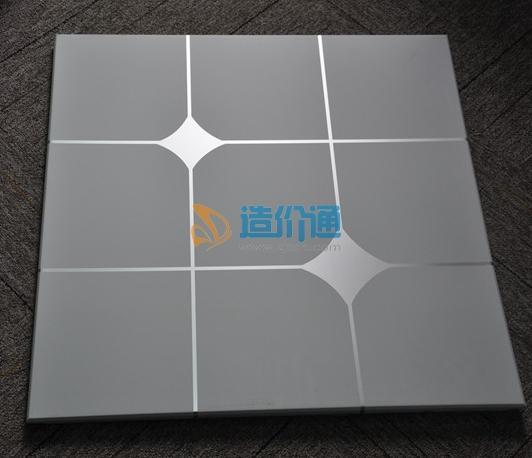 铝扣板四边单线凹图片