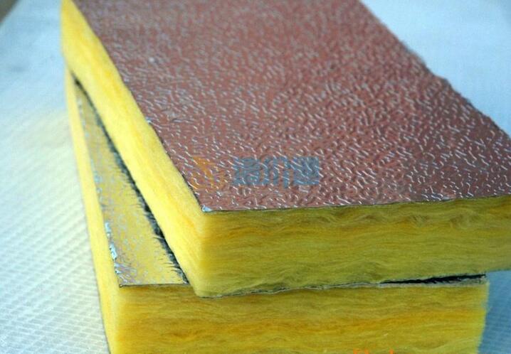 铝箔玻纤复合板图片