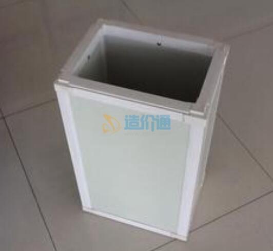 挤塑酚醛复合风管板材(双面复合铝箔)图片