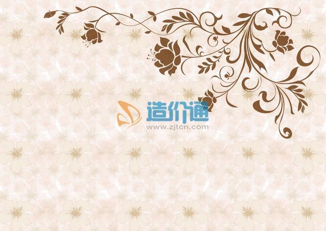 三层原木纺壁纸图片