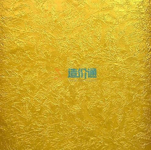 金箔片图片