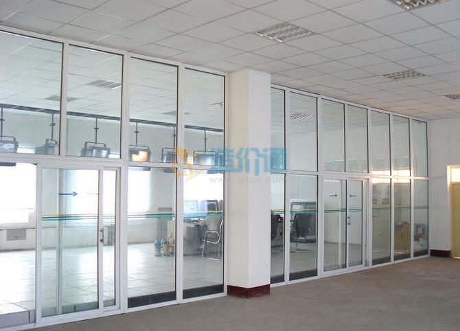 铝镁合金玻璃隔断图片