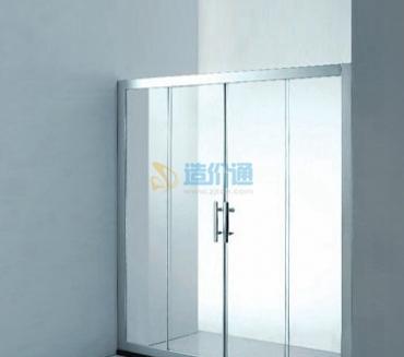 单开系统门+门框图片