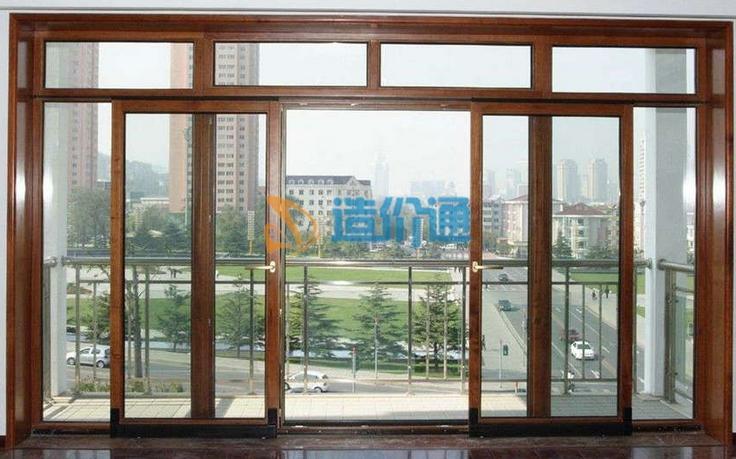 铝木复合门窗图片
