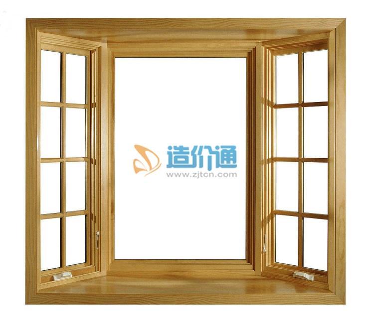 实木窗图片