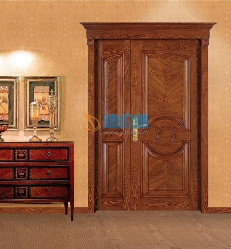 沙比利、铁杉贴面复合空门、窗套图片
