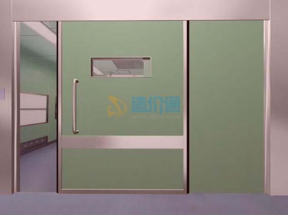 彩板组角固定门图片