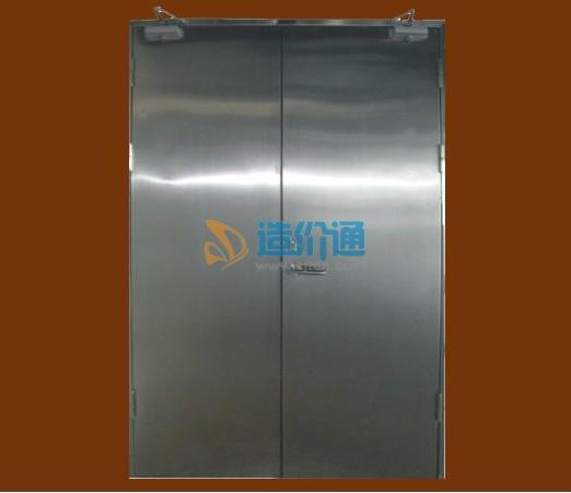 钛金不锈钢玻璃防火门图片