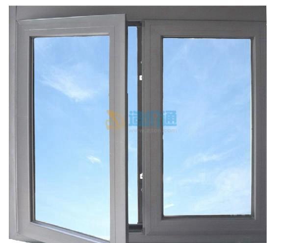 铝合金隔热断桥平开窗图片