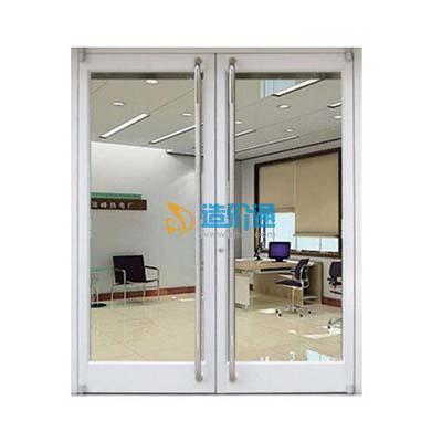 铝合金玻璃门(卫生间门)图片