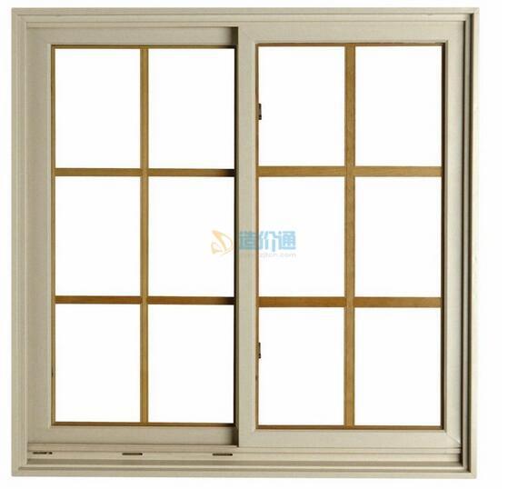 铝合金平开窗图片