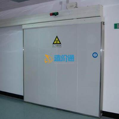病人进口电动推拉防护门(防辐射)图片