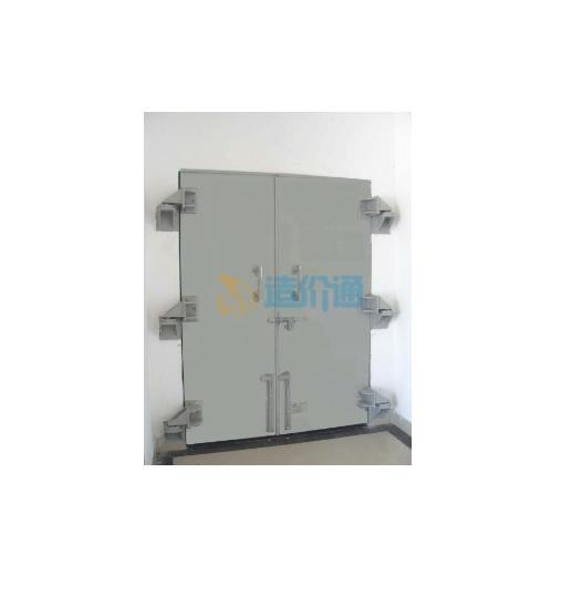 钢结构防护门图片