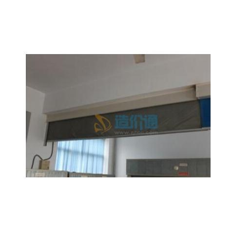 固定式钢化玻璃挡烟垂壁图片