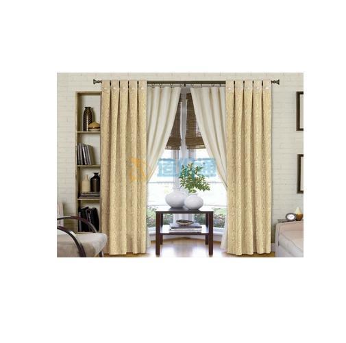 单层遮光窗帘布图片