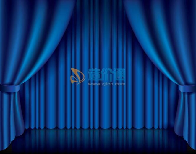 电动舞台幕图片