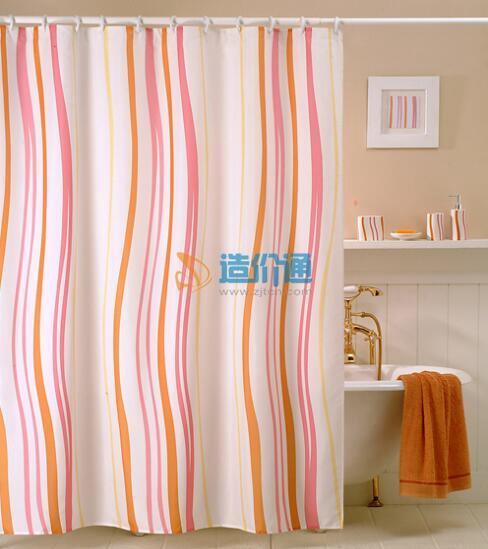 浴帘(明亮绿)图片
