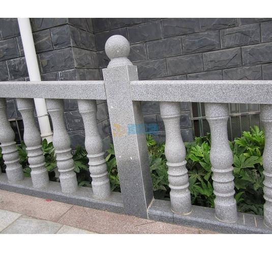 花岗岩栏杆图片
