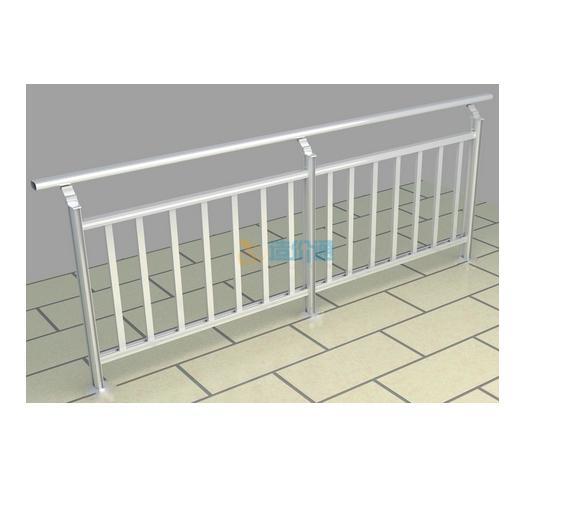 艺钢栏杆护栏图片