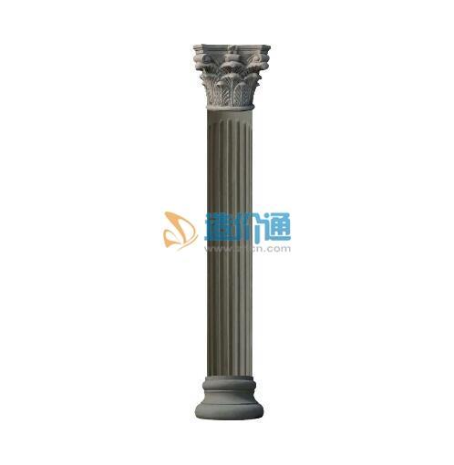 罗马柱柱身类图片
