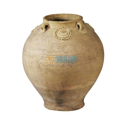 红土陶罐图片
