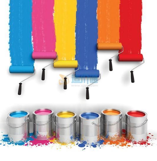 PVC硬质塑料专用面漆图片