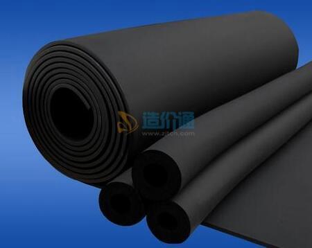 B4级橡塑保温管图片