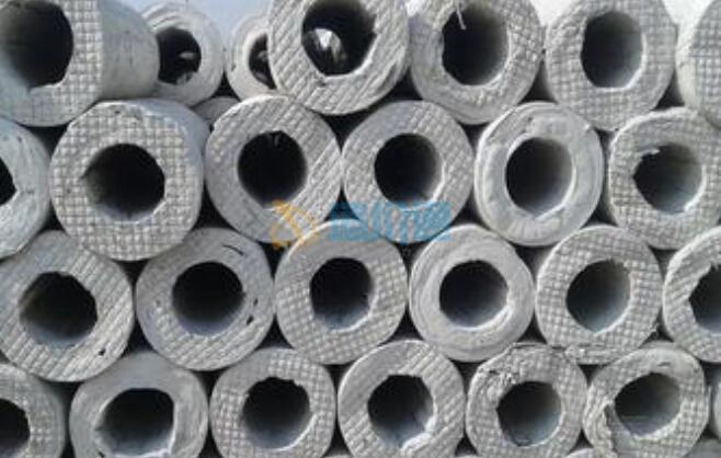 硅酸铝管图片