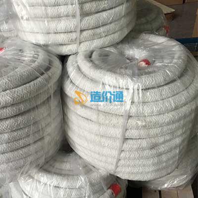 硅酸铝纤维绳图片